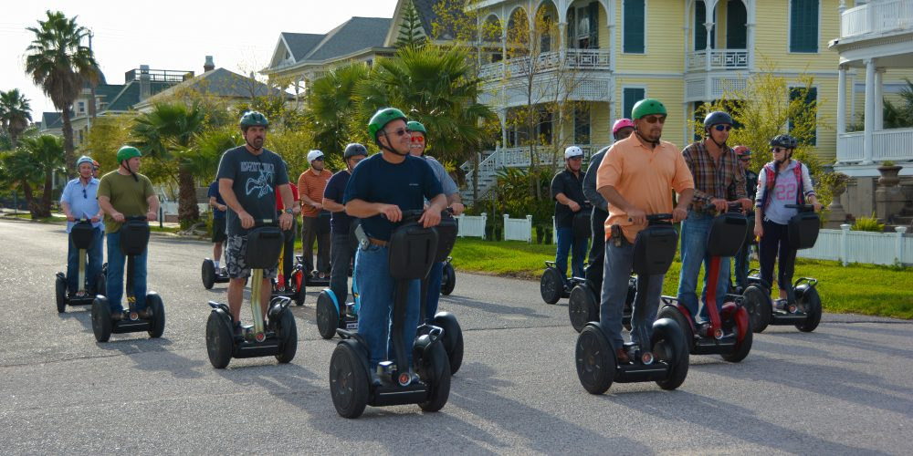 Why Driving a Segway is One of the Best Things You Can Do in Galveston