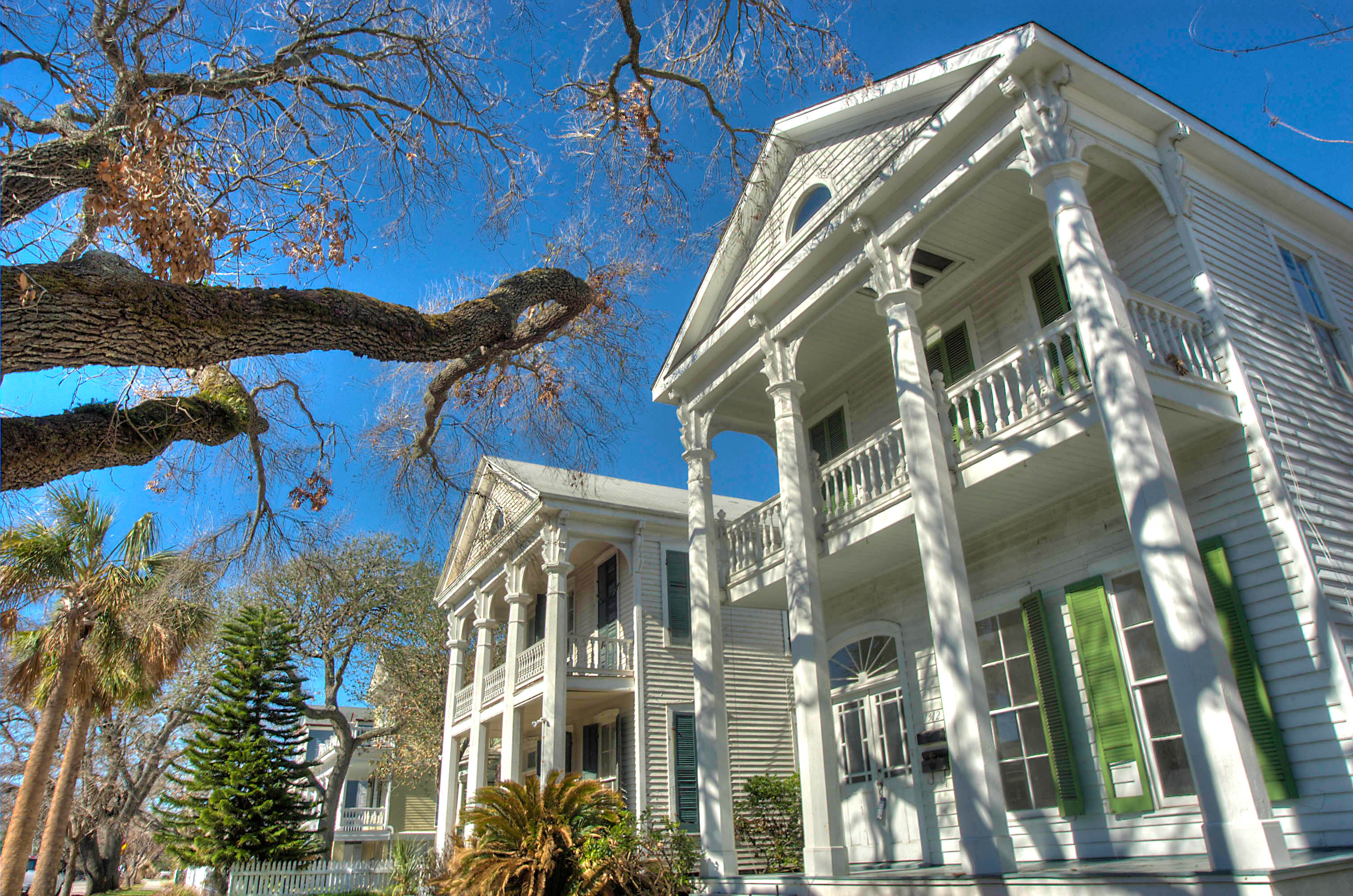 East end historic district in Galveston