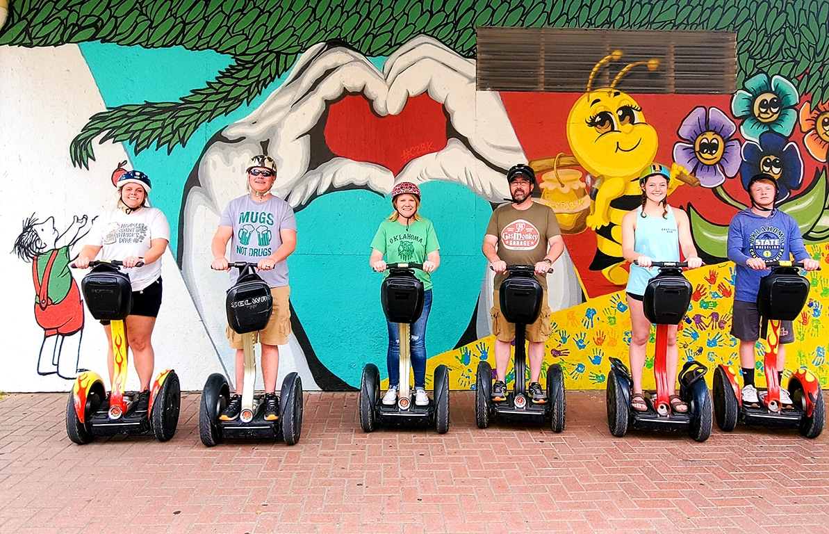 Turtels and Murals Segway tour